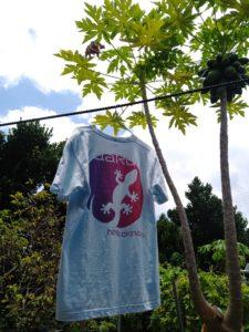 ヤモリTシャツ