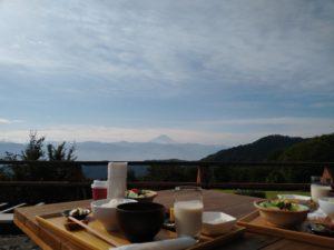 最高の朝食 at FUFUyamanashi