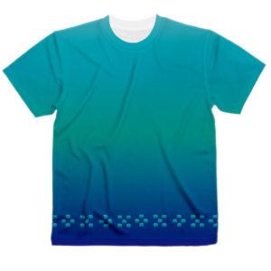 ミンサー柄Tシャツ